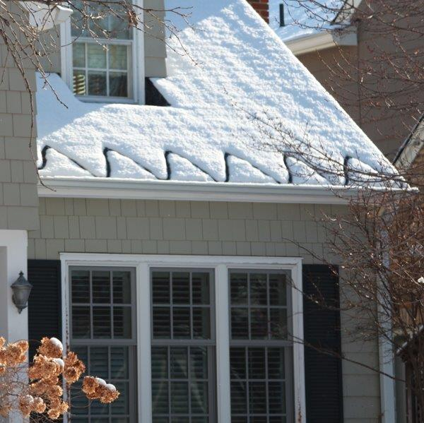 Rain Gutter Heater Cables : Photo gallery at ct roof gutter ice melt systems