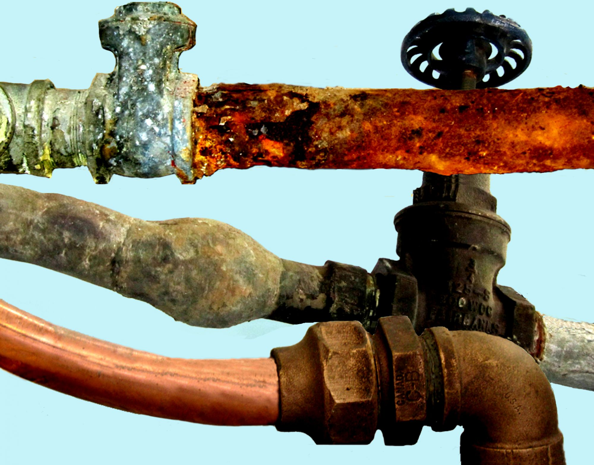 Drain services in shelton ct 203 876 1212 06484 for What is the best material for water pipes