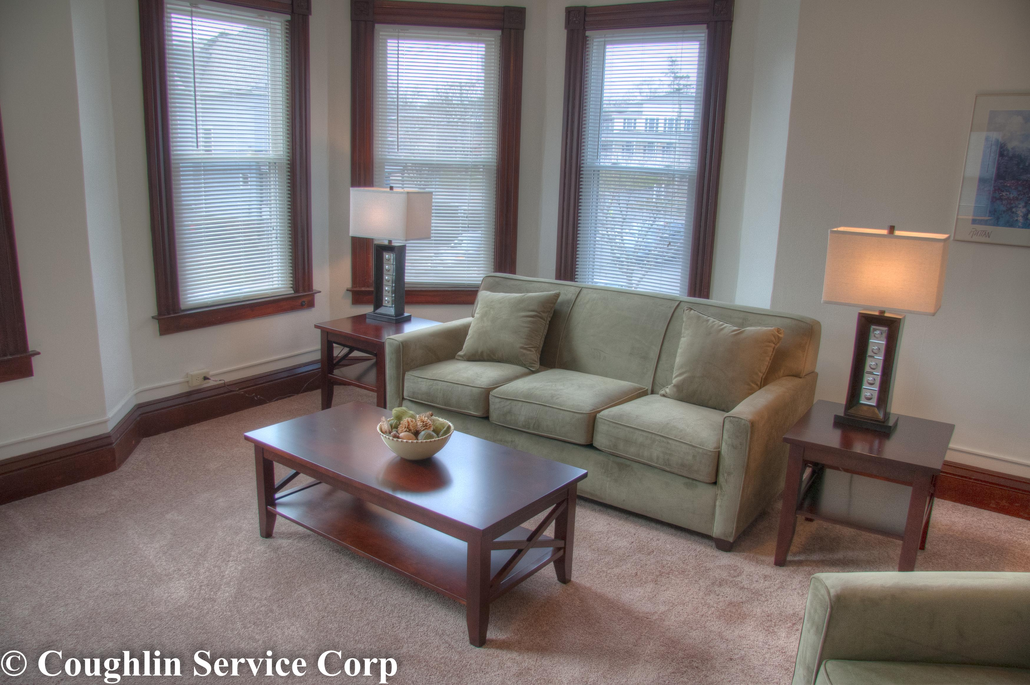 Apartment Renovation Living Room Coughlin Service Corp Builder Middletown