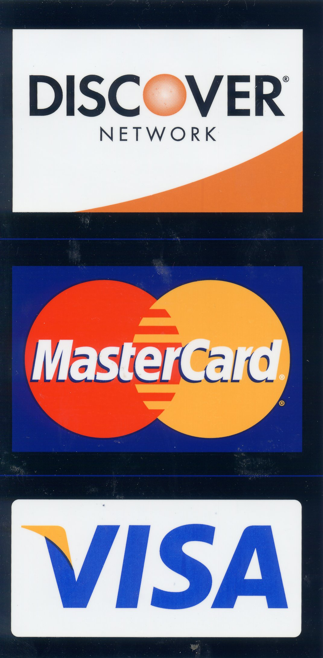 We accept Master Card Visa and Discover, Coughlin Service Corp Builder in Middletown CT