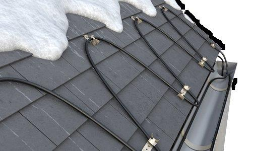 Roof Heating Systems : Ice dam solutions