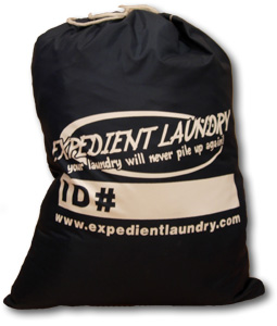 "This is our laundry bag! It is 20"" by 26"". Stuff it as full as you can, as long as the top closes!"