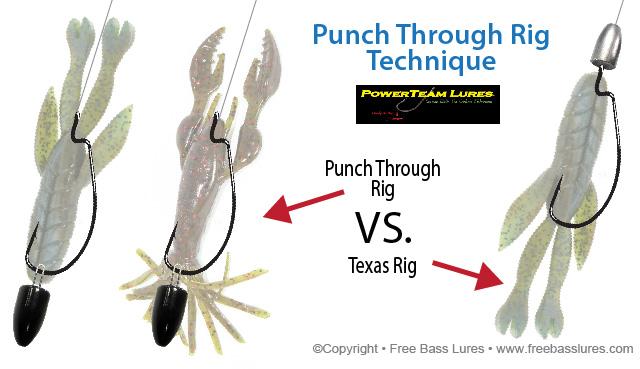 Texas Bass Rig Use a Texas Rig Setup to