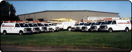 Newington Electric Company's Fleet of Electrician Vehicles