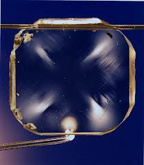 Diamond window for an interferometer