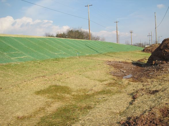 Erosion Control Blanket Implementation