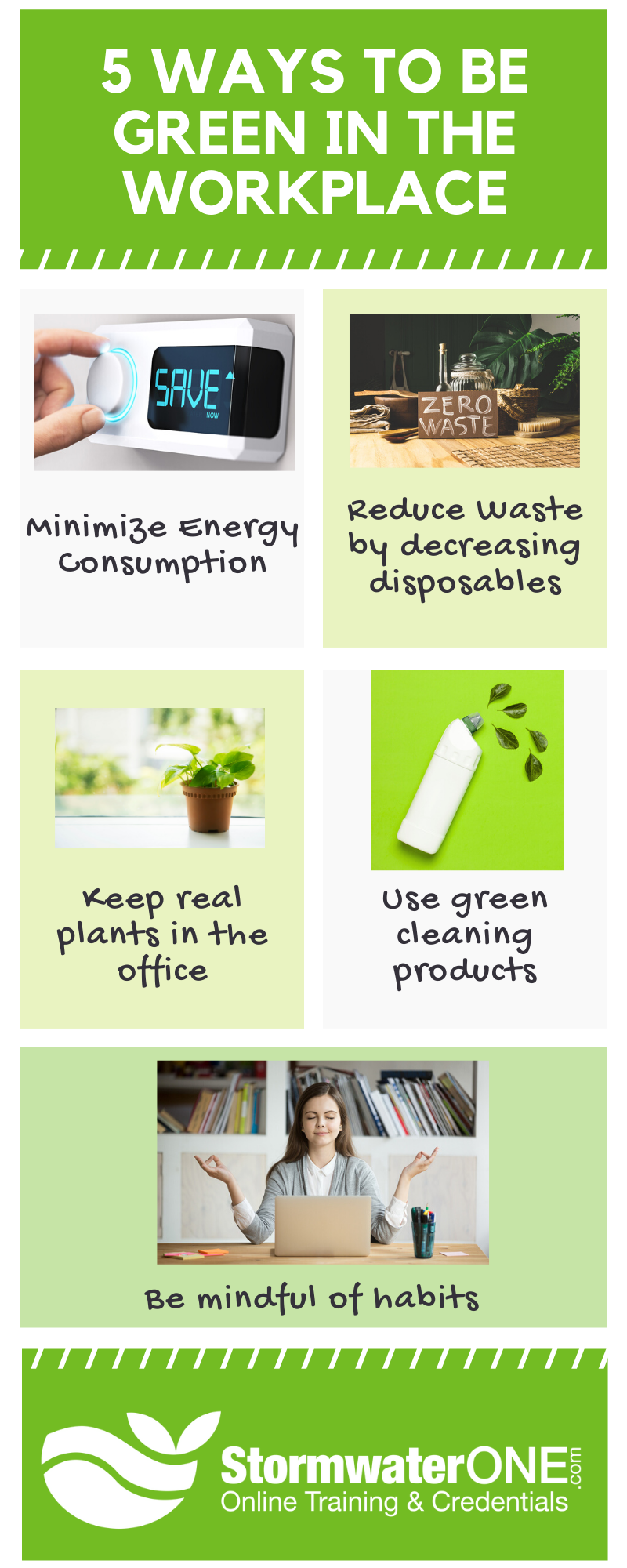 5 ways to go green in the workplace