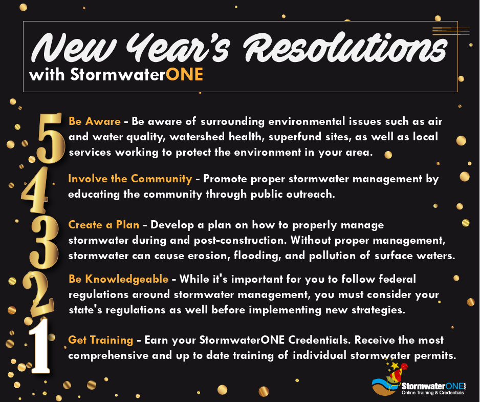 new year's stormwater management
