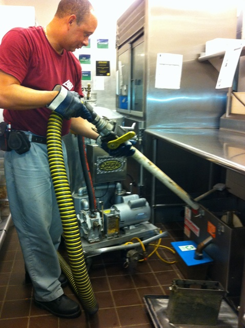 Suburban Sanitation Service Grease Trap Cleaning