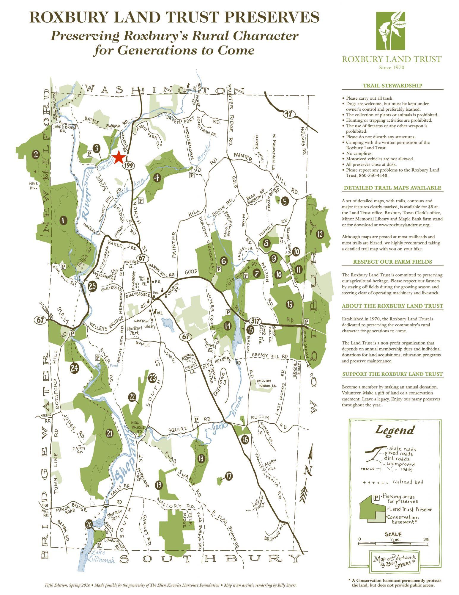 Roxbury Land Trust Preserves